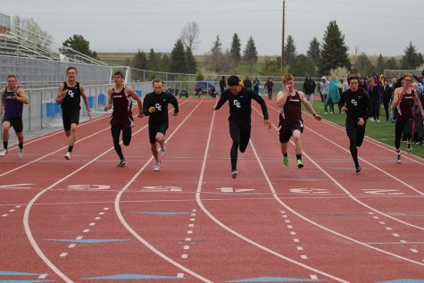 Boys 4×100 Team Steals the Show at State Track