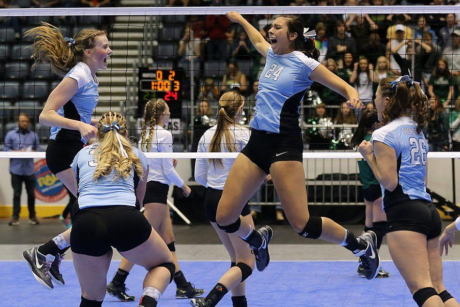 EHS Volleyball Makes History
