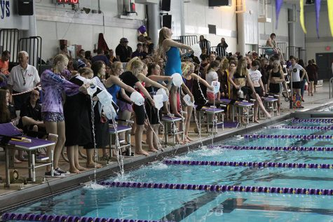 Girls Break Personal Records at State Swim