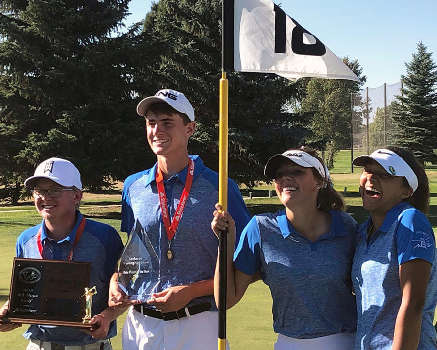 Danni earns second state golf championship