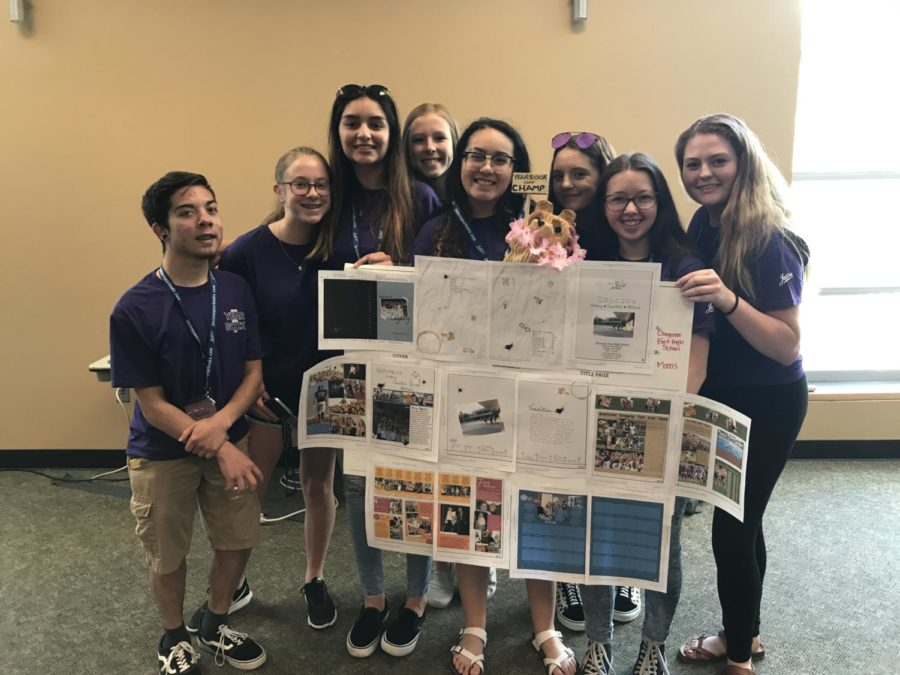 T-Birds Named 5280 Yearbook Camp Champ