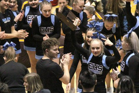 Cheer squad finishes as one of the best in the state